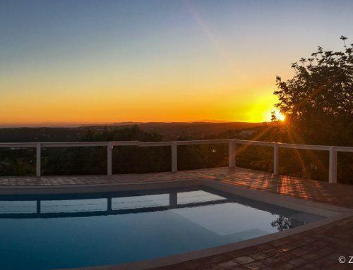 Casa Bandidas: golden sunsets