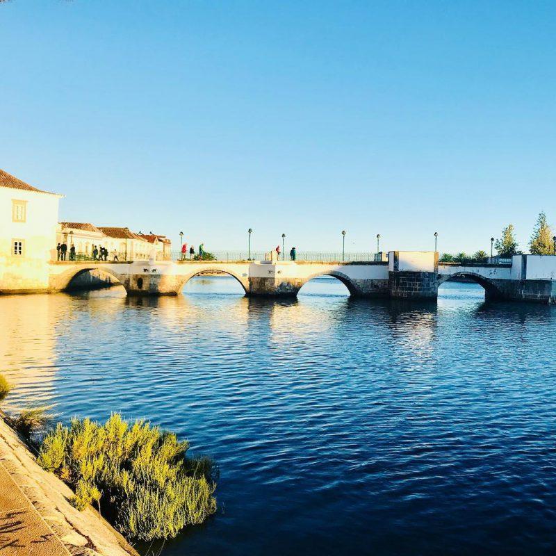 Ponte Romana in Tavira in Zalig Algarve
